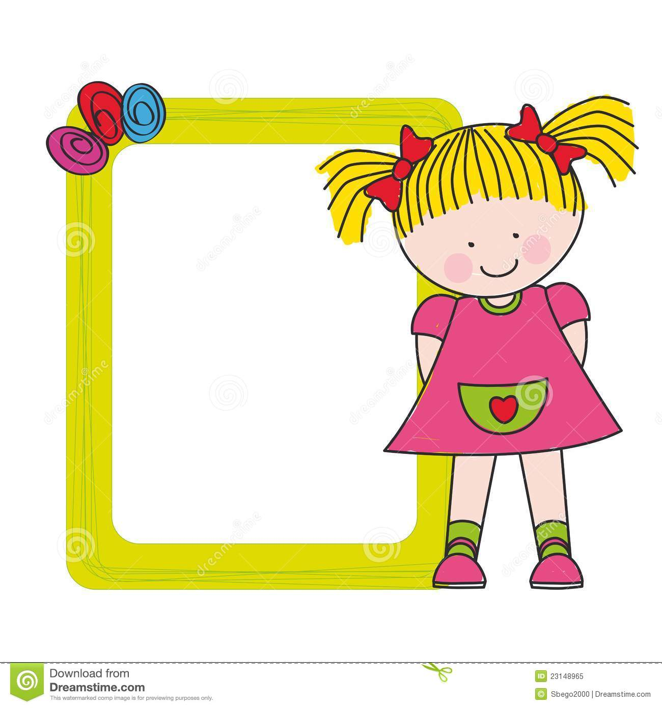 baby girl with a frame royalty free stock photo image teddy bear clip art for baby shower teddy bear clip art free