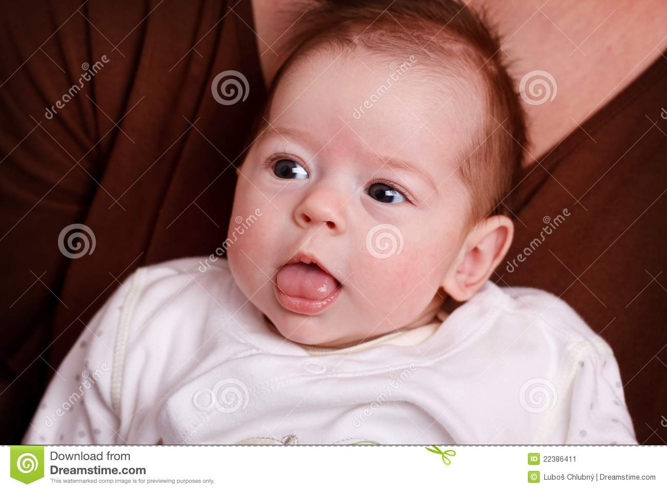 Baby Girl Making Funny Faces Stock Image - Image: 22386411 Funny Baby Girl