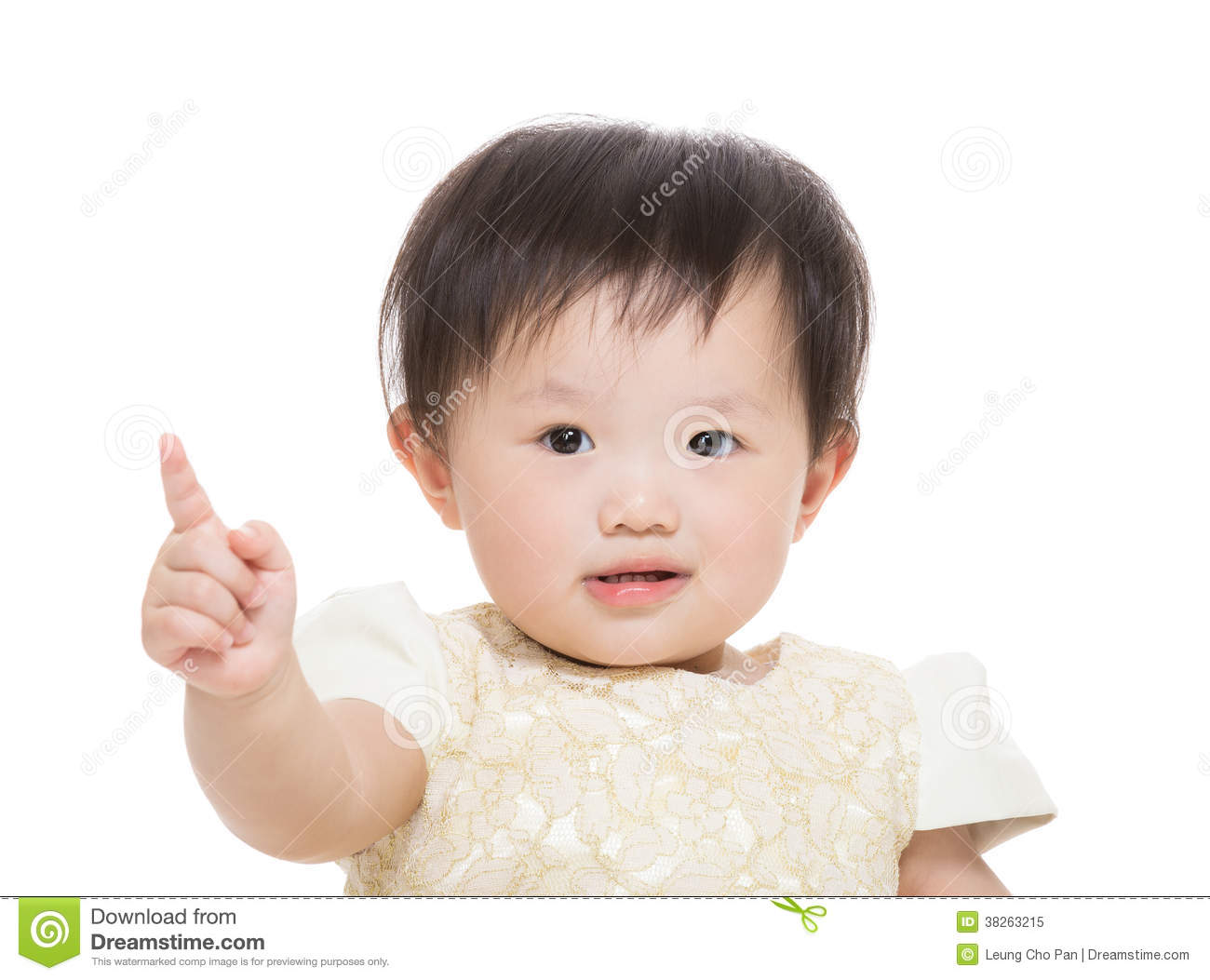 Baby Girl Pointing Finger Royalty Free Stock Photo - Image ... Cute Baby Pointing Finger