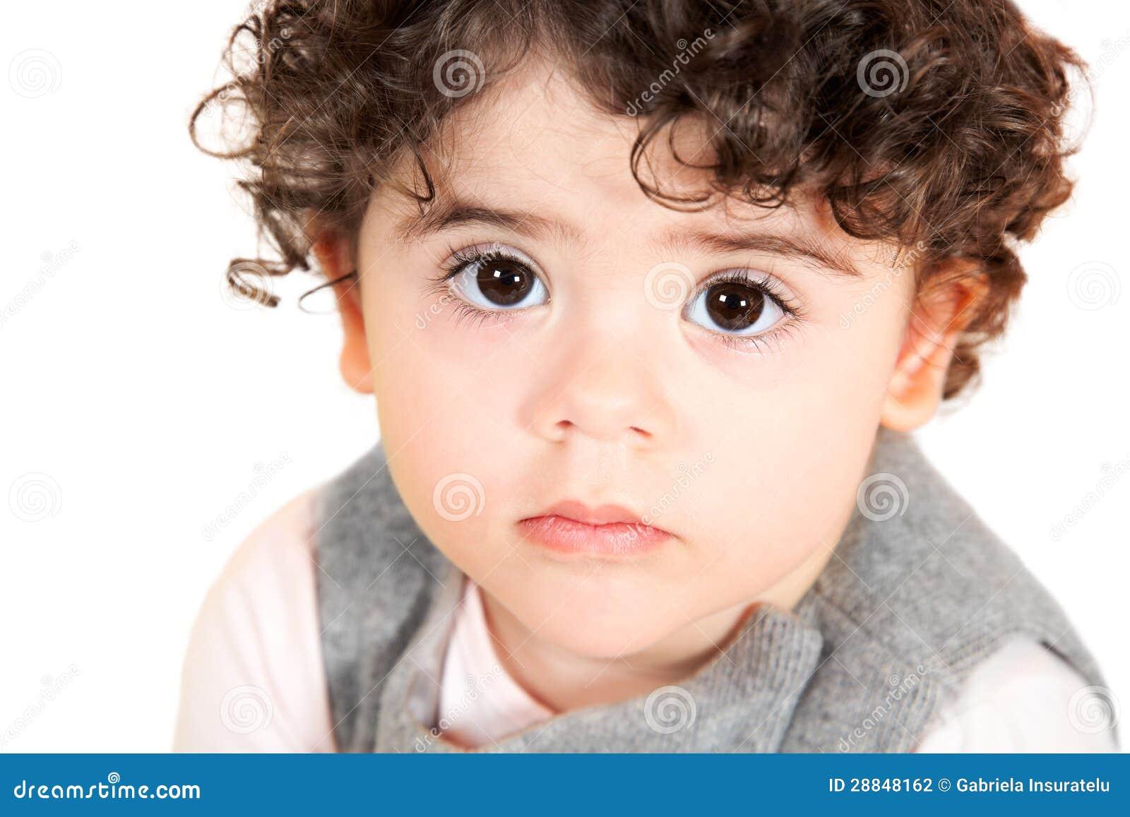 Baby Girl Portrait Stock Photography Image 28848162