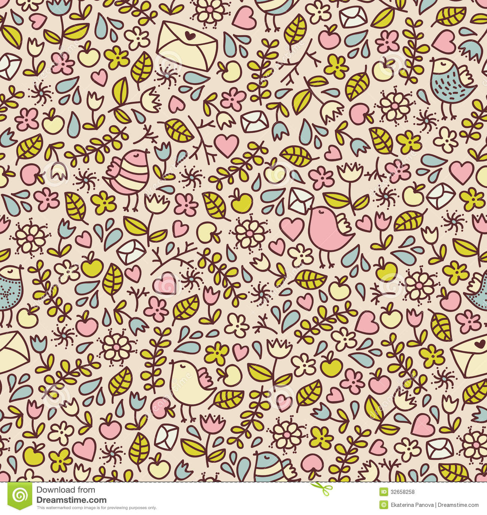 Baby girl seamless patterns patterns kid