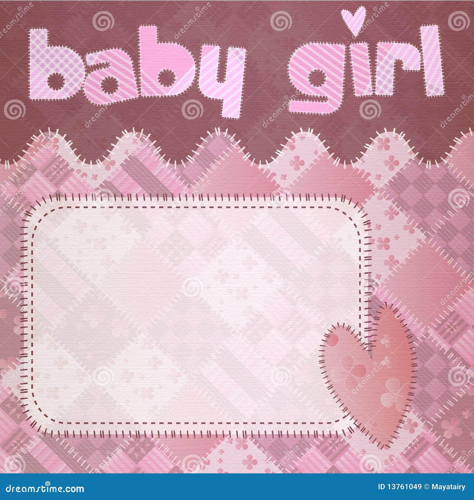 baby girl shower newborn stock illustration illustration of