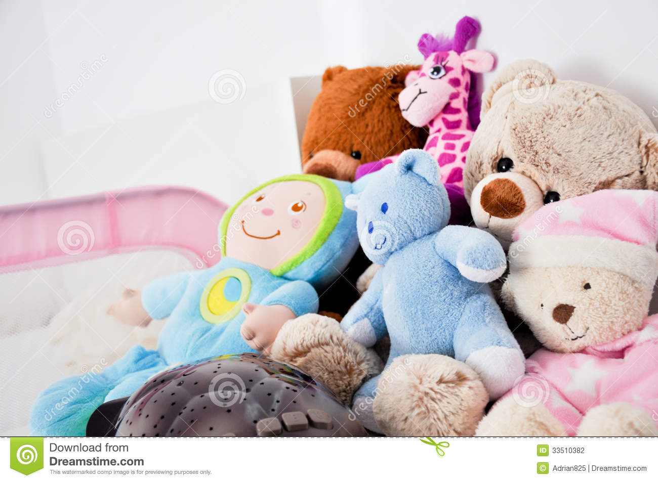 Toys Baby Girl : Baby girl toys stock photography image