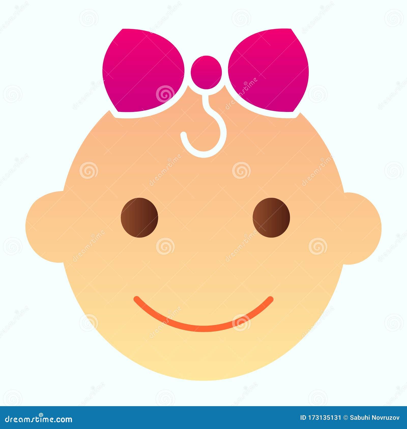 Cartoon Happy Tiny Baby Pea Character Isolated On White
