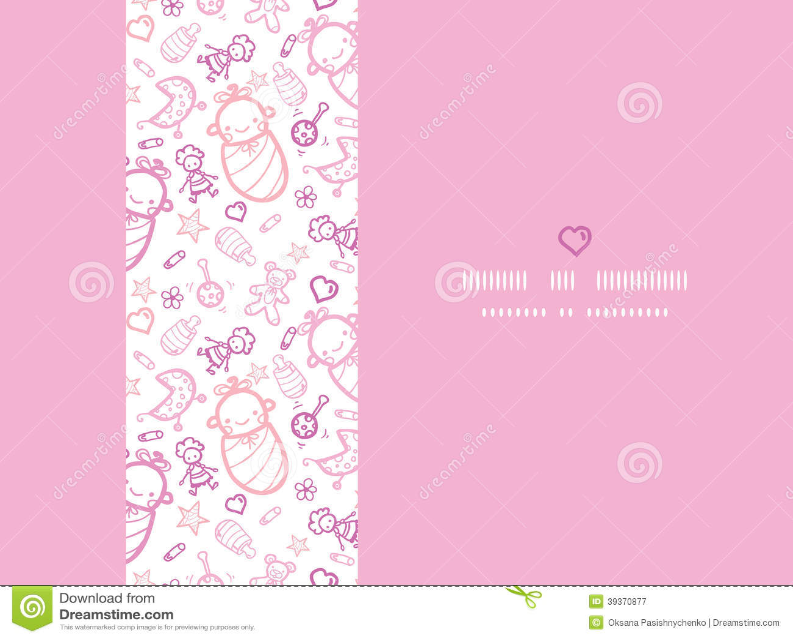 Baby Girl Background Frame | Free