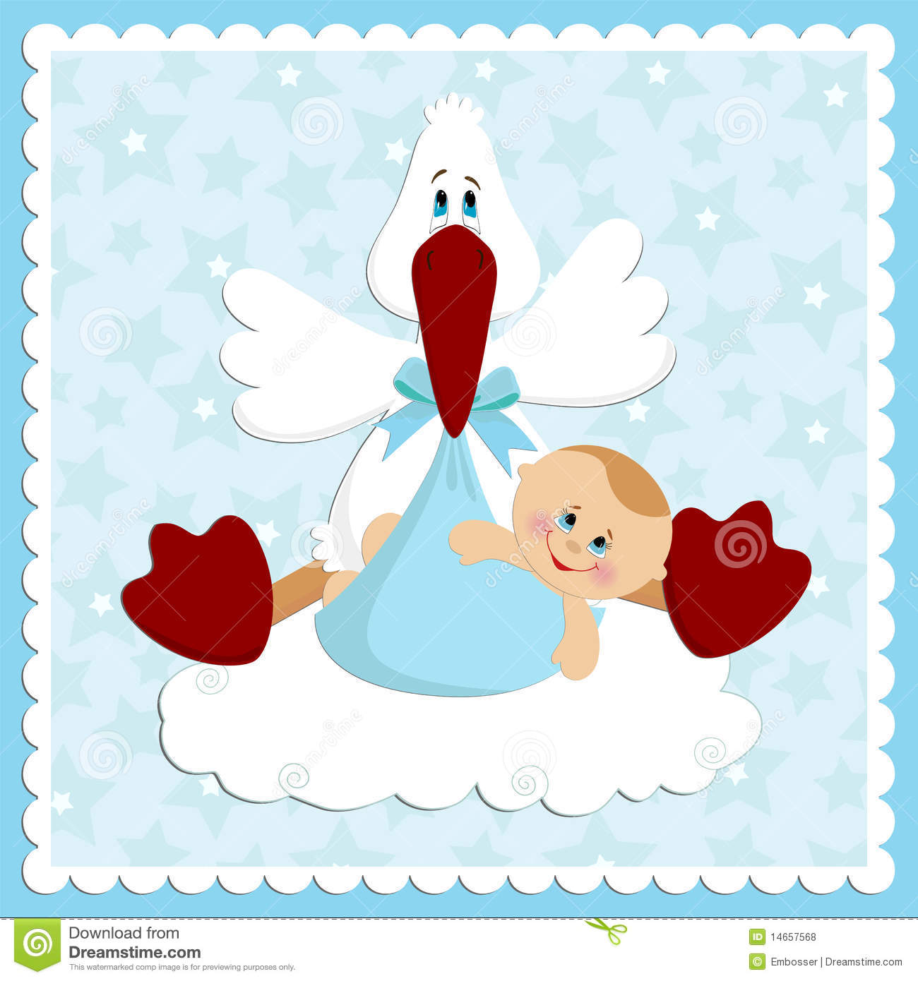Baby greetings card stock vector illustration of banner 14657568 baby greetings card m4hsunfo