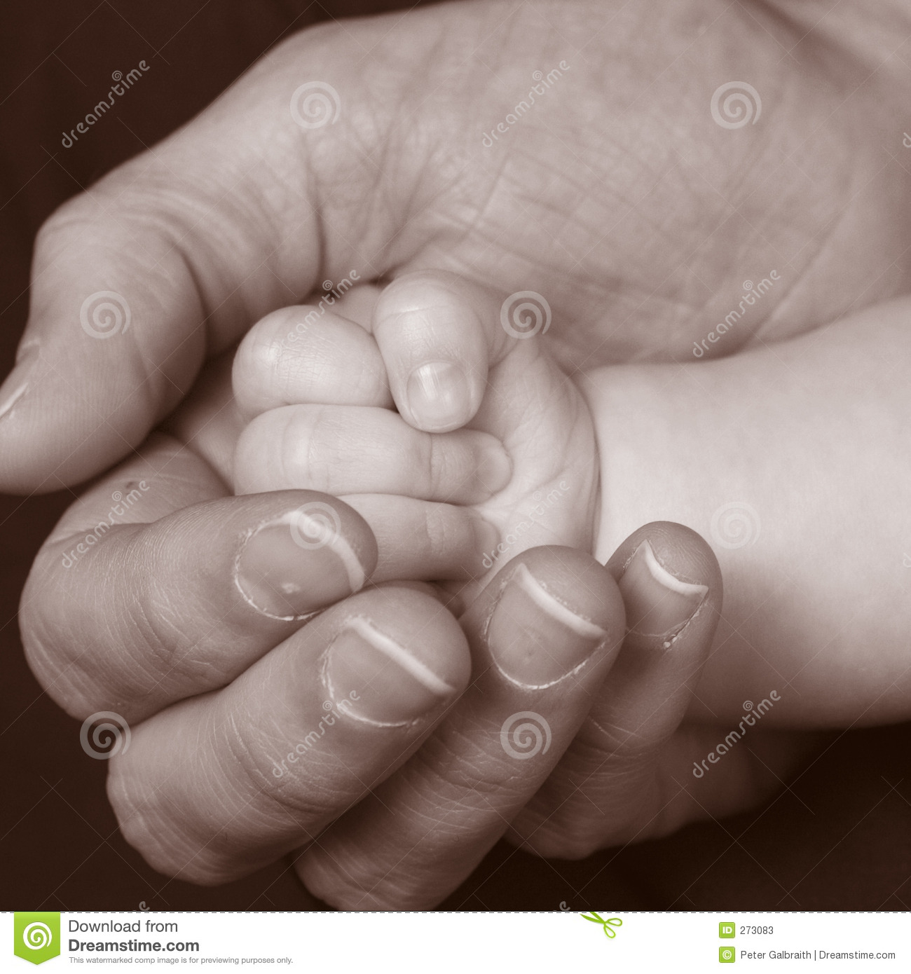 Baby Hand 3 Stock Photos - Image: 273083