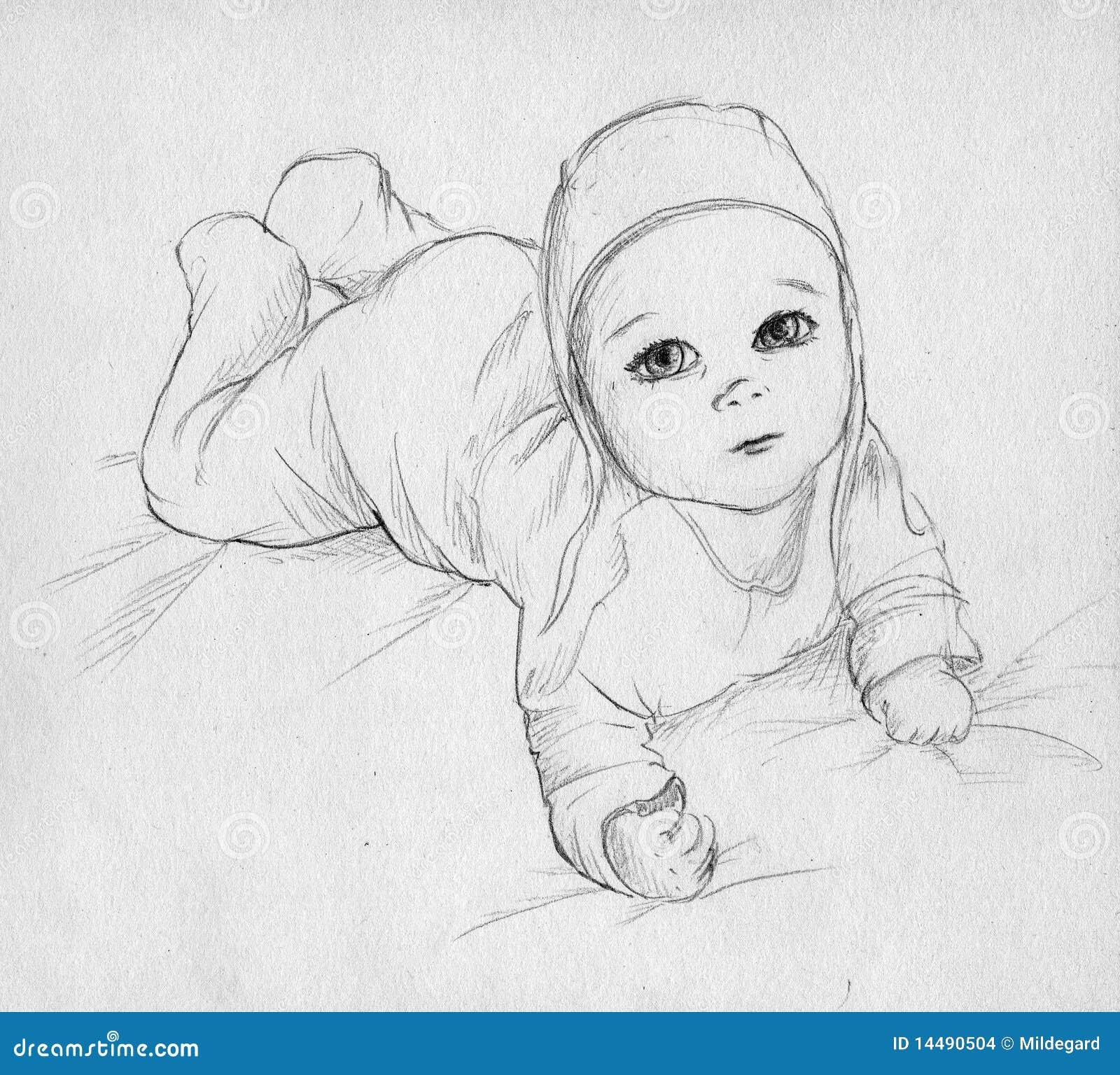 Рисунок малышей своими руками