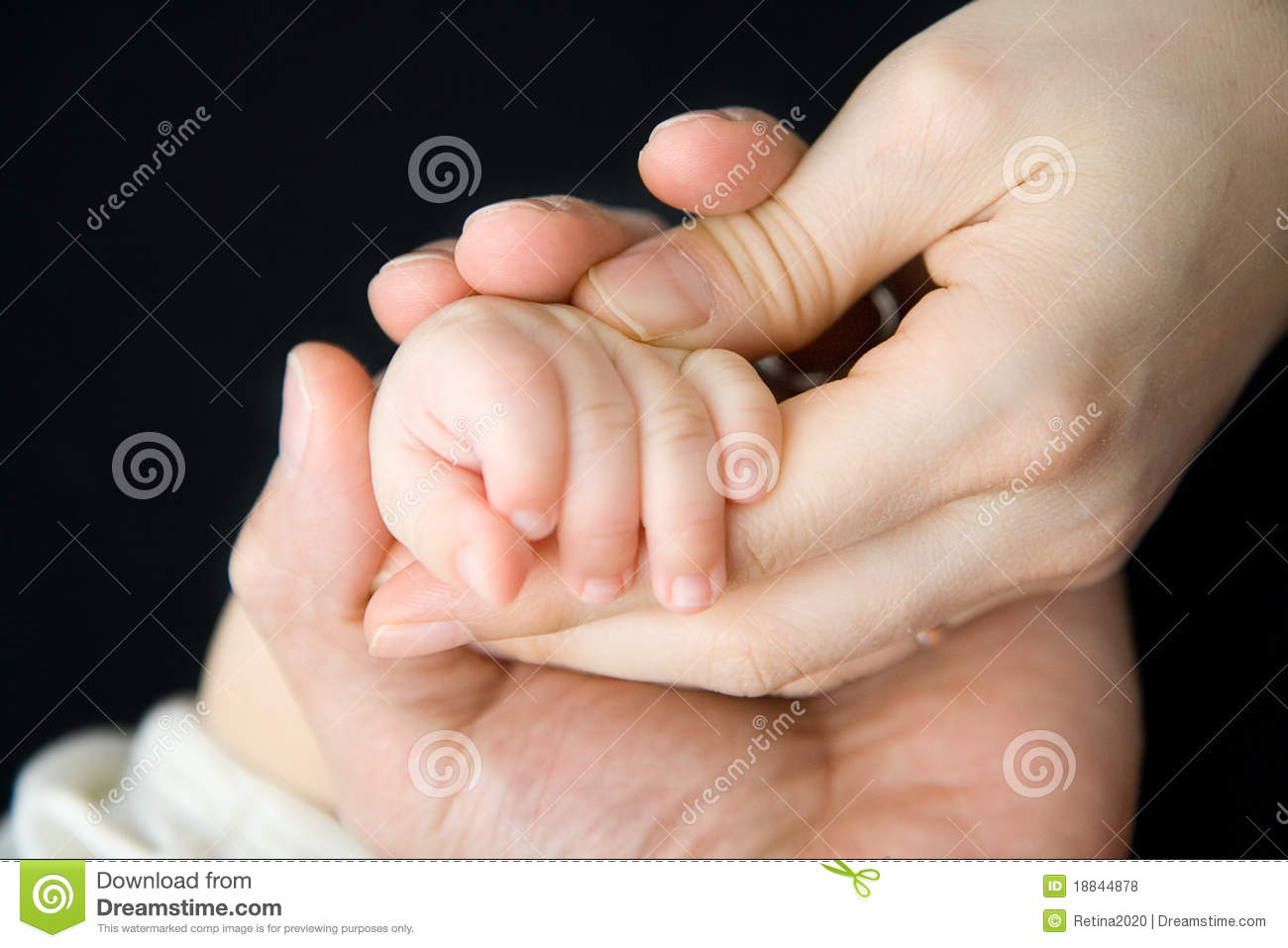 Baby Hand Mother Father Stock Images Download 8160 Royalty Free