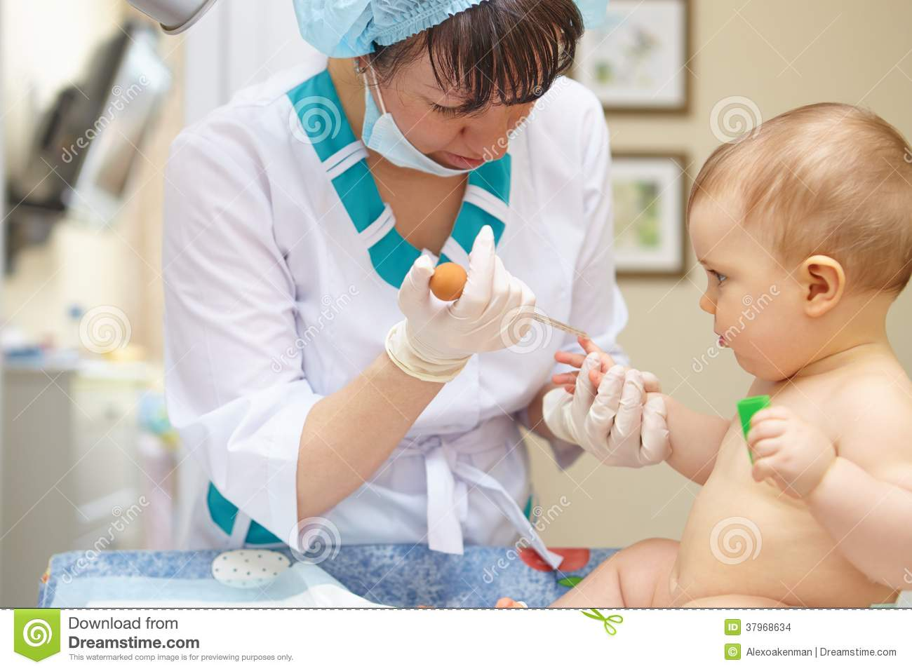 baby healthcare and treatment medical research blood tests stock images image 37968634. Black Bedroom Furniture Sets. Home Design Ideas