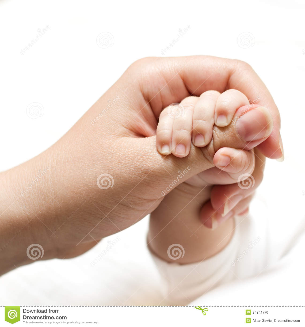 Baby holding mother hand stock photo. Image of together ...