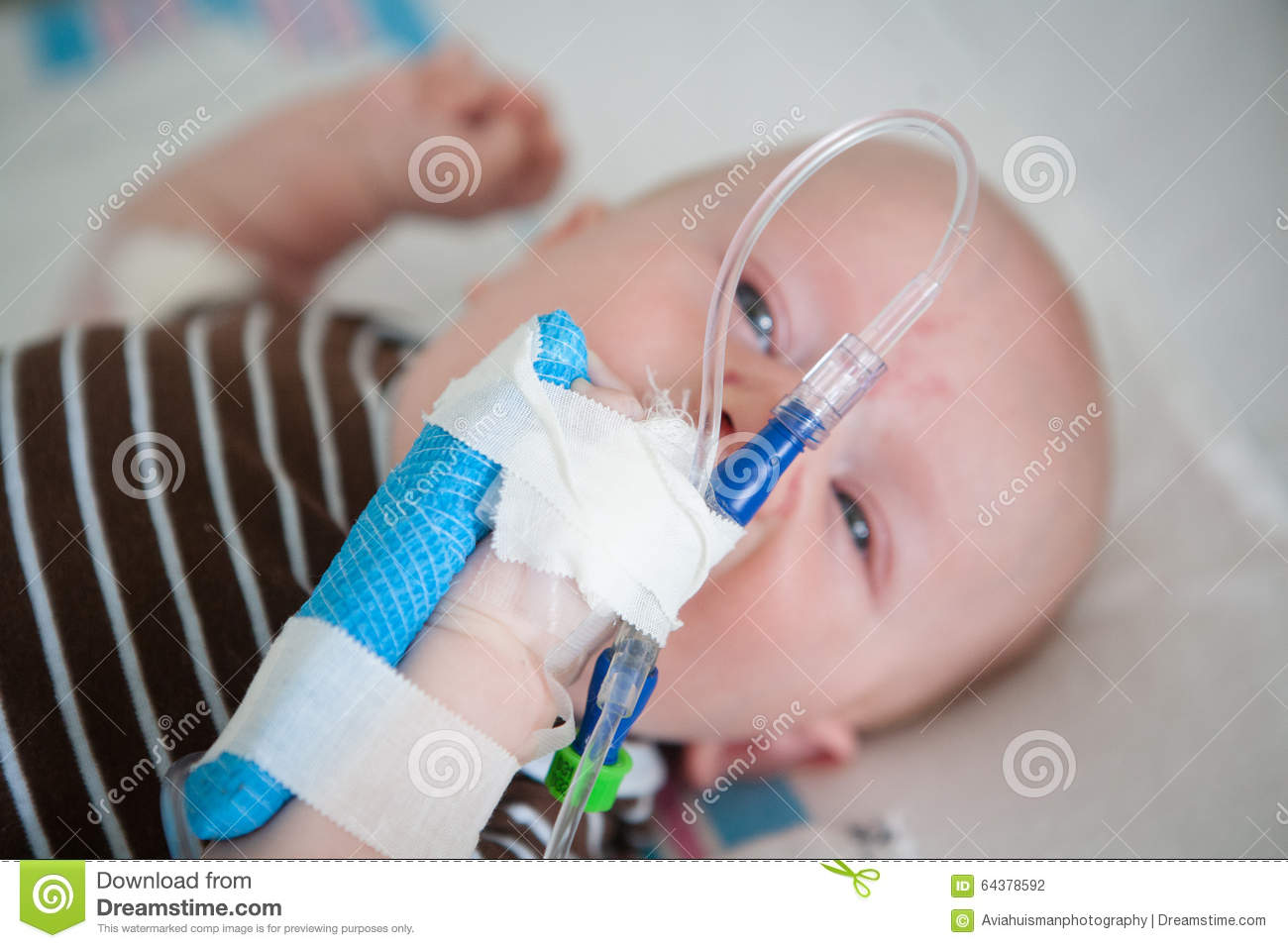 The Iv And Your Hospital Bed