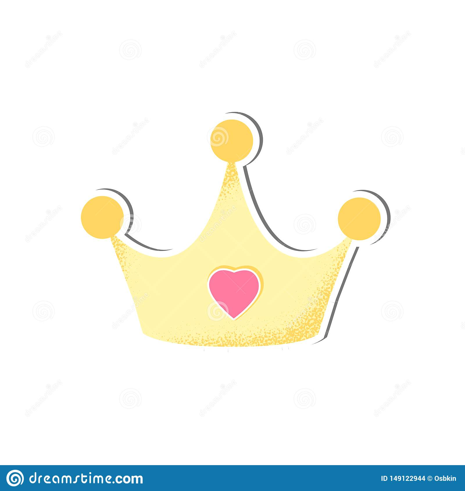 Baby Isolated Crown Vector For Girl Stock Vector Illustration Of Cartoon King 149122944 King crown simple king crown golden vector king crown cartoon. https www dreamstime com baby isolated crown vector girl cartoon style icon wear happy child simple object shower card accessory illustration image149122944