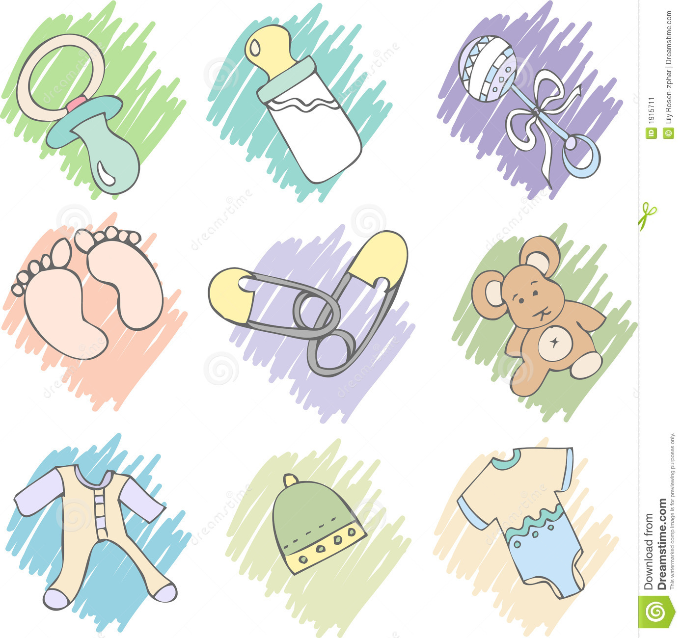 Baby Items Stock Image - Image: 1915711