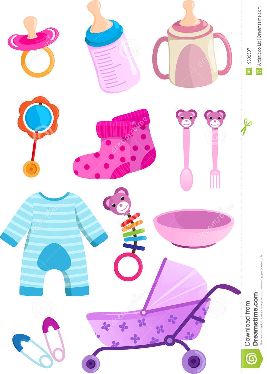 Baby Items Royalty Free Stock Photography  Image: 19602537