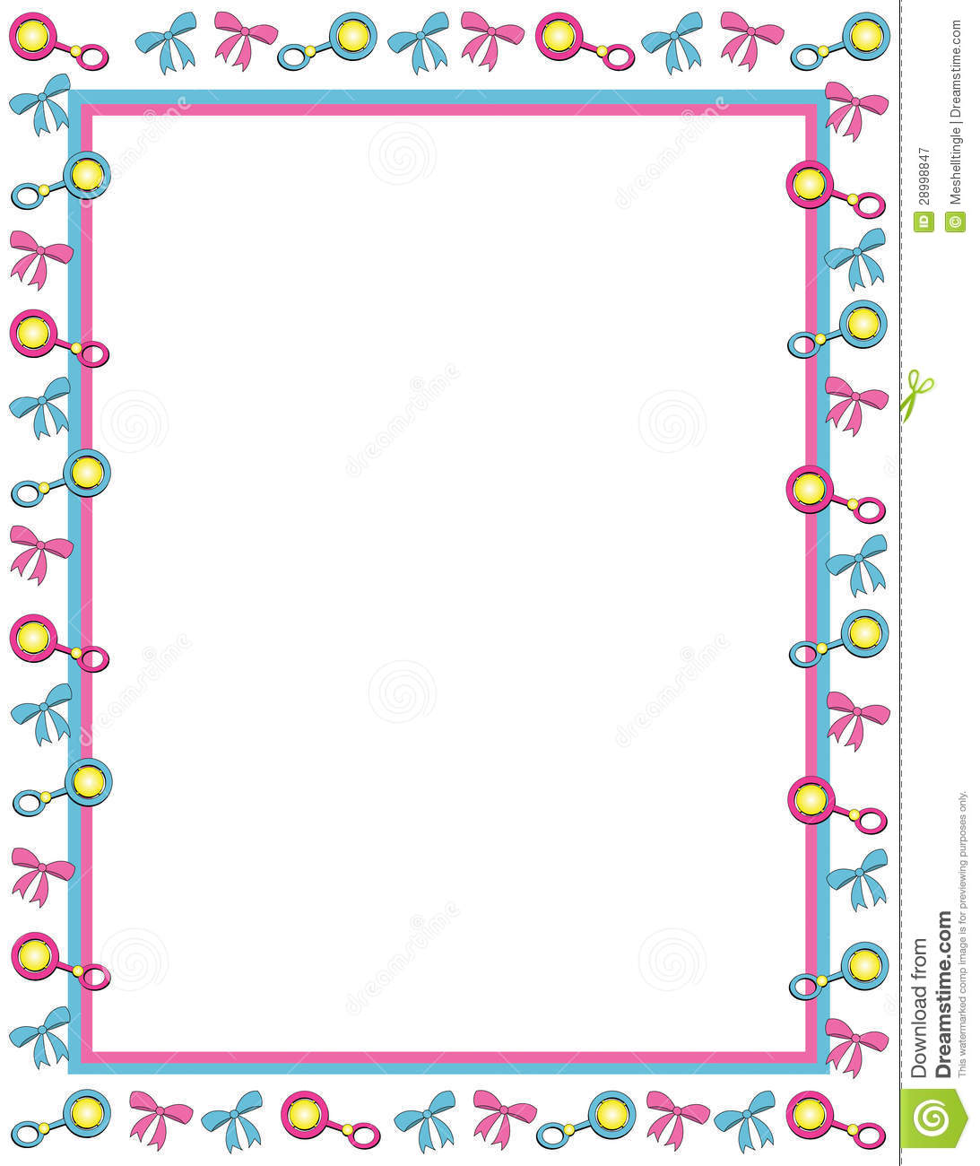 free clip art borders baby theme - photo #9