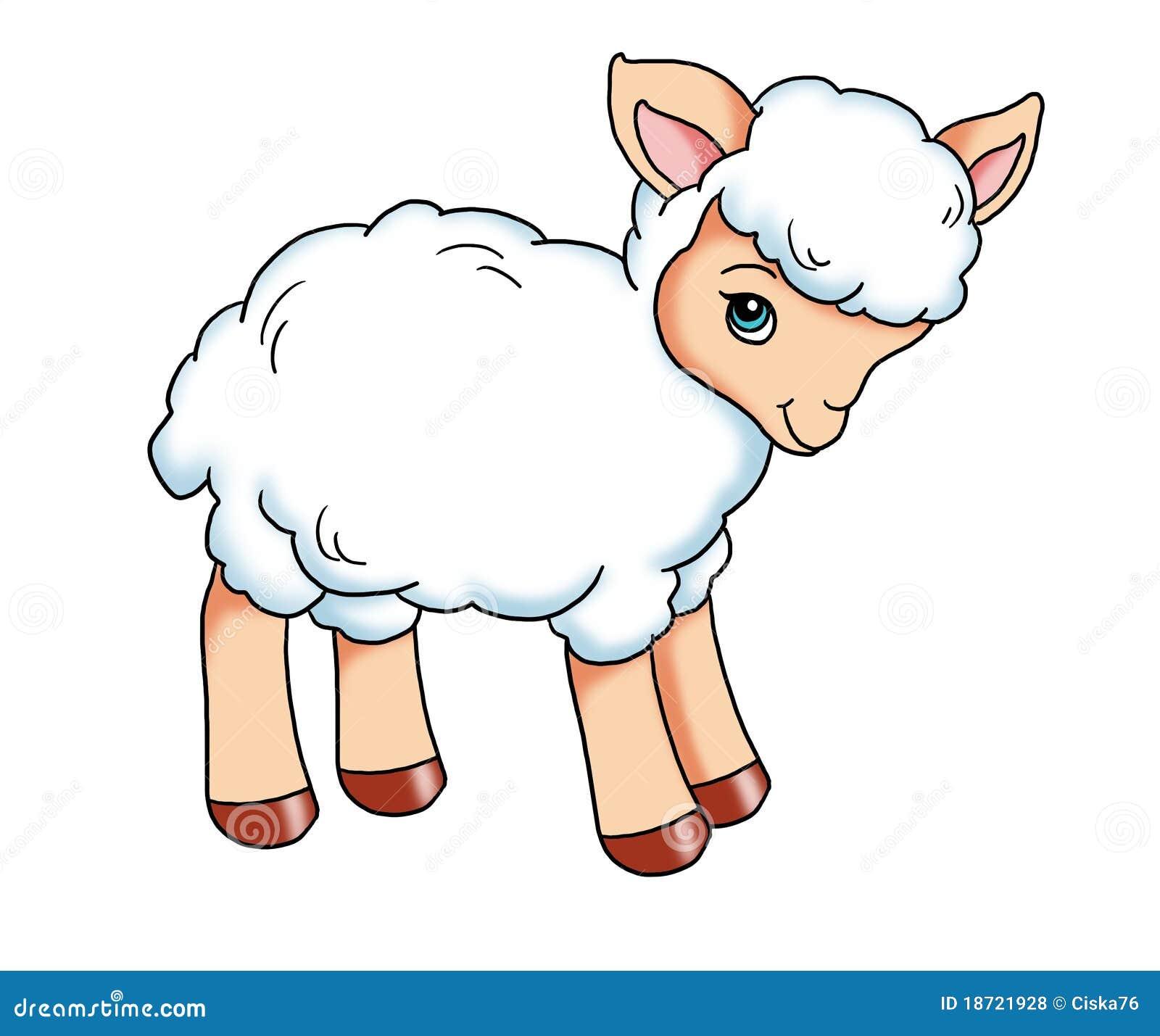 Baby Lamb Royalty Free Stock Photos - Image: 18721928