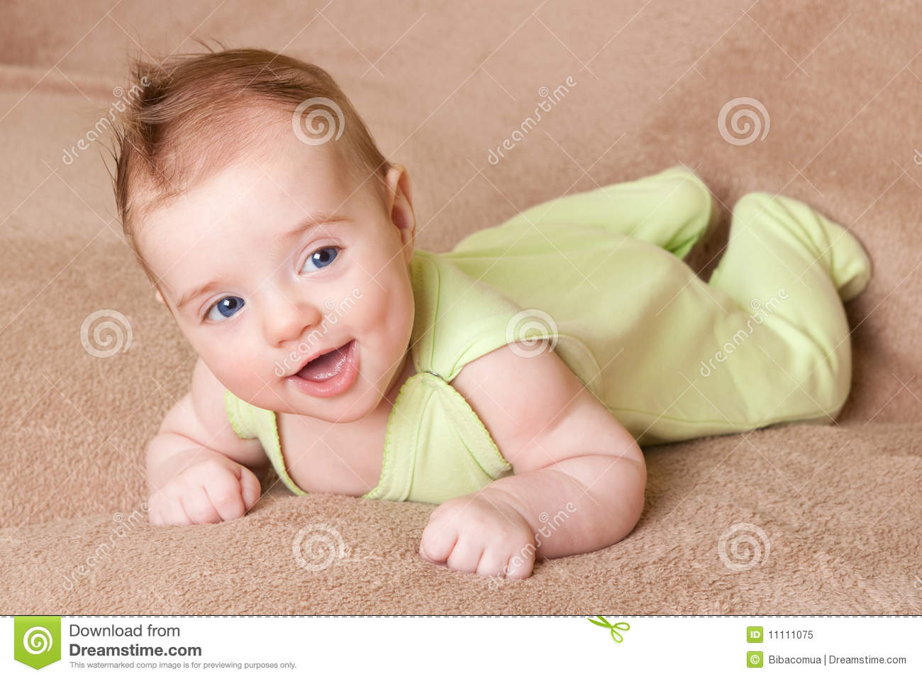baby laugh royalty free stock photo - image: 11111075