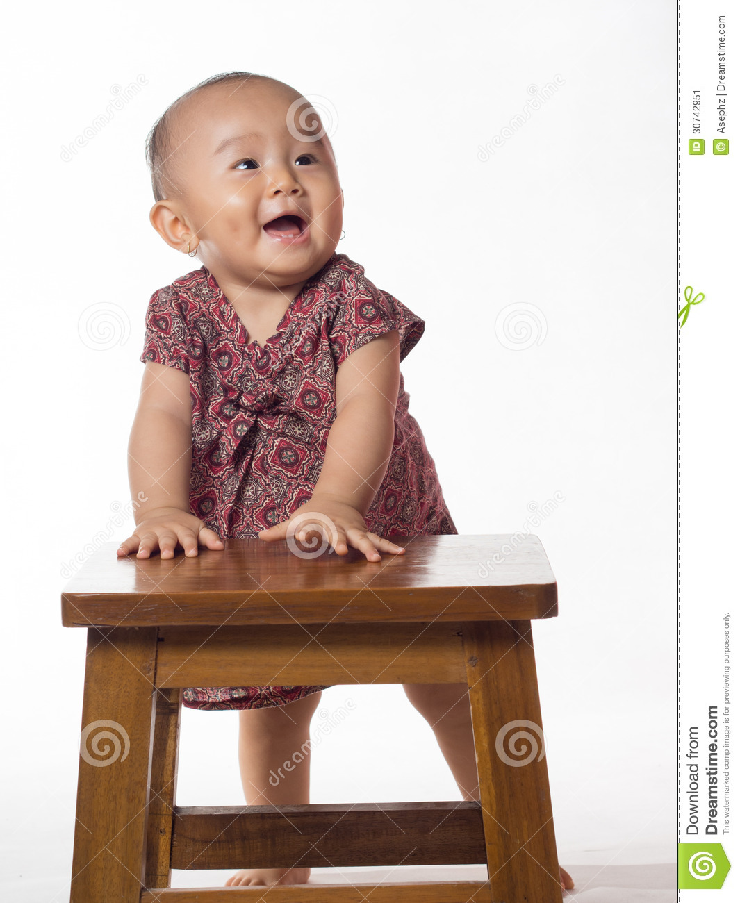 Baby Learning To Stand Stock Image Image 30742951