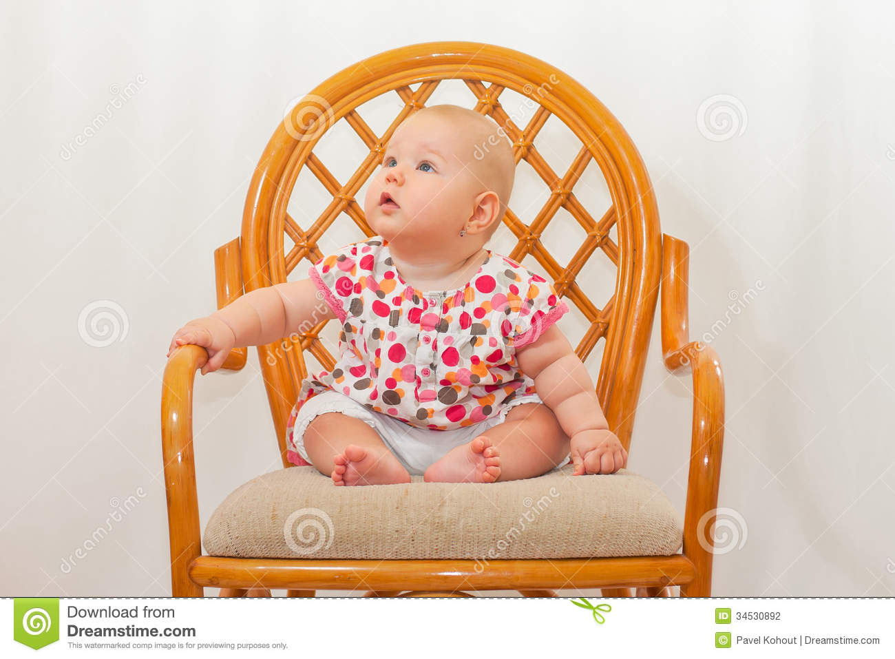 Baby stock photography image 34530892 for Toddler sitting chair
