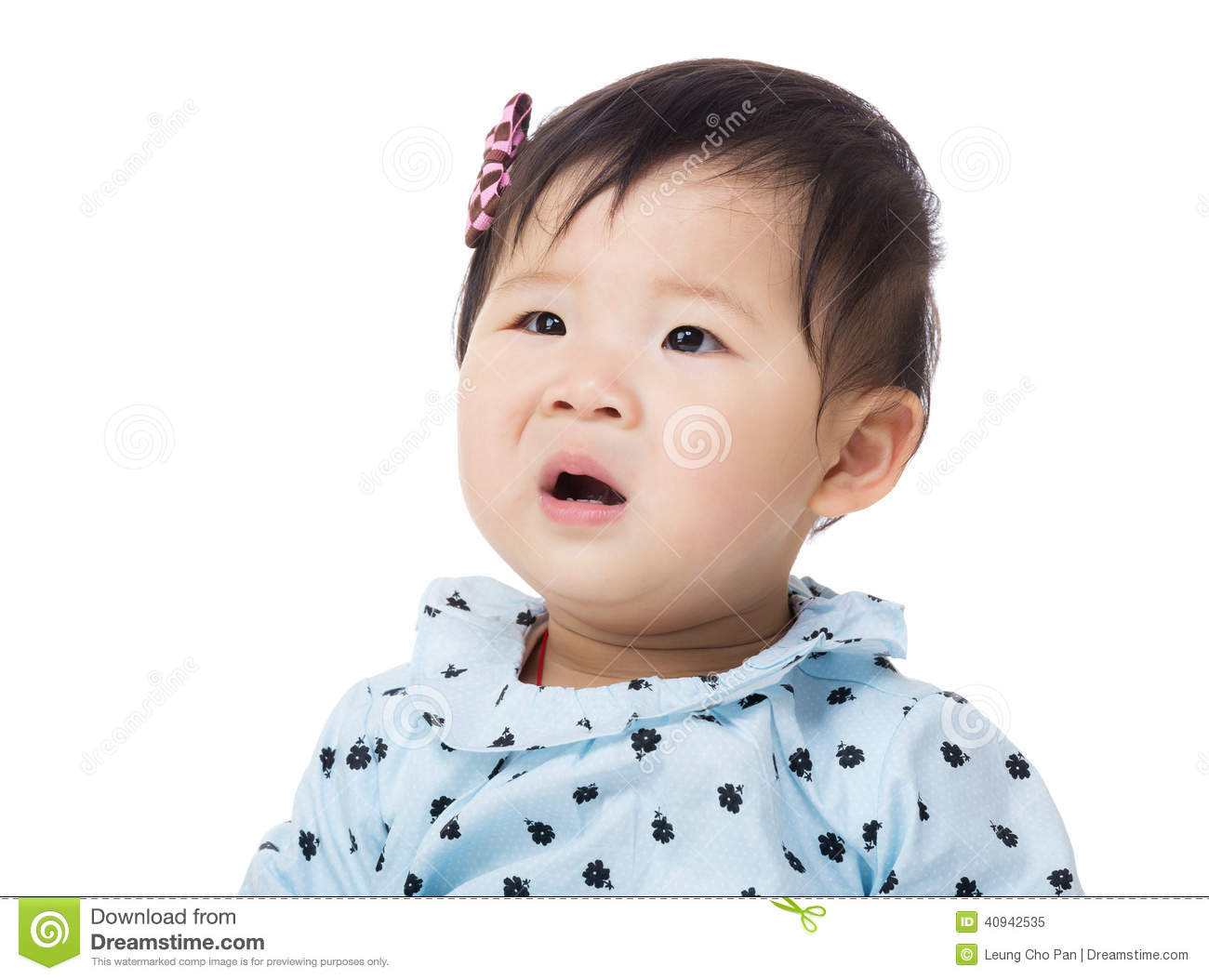 Baby Making Funny Surprised Face Stock Photo - Image: 40942535