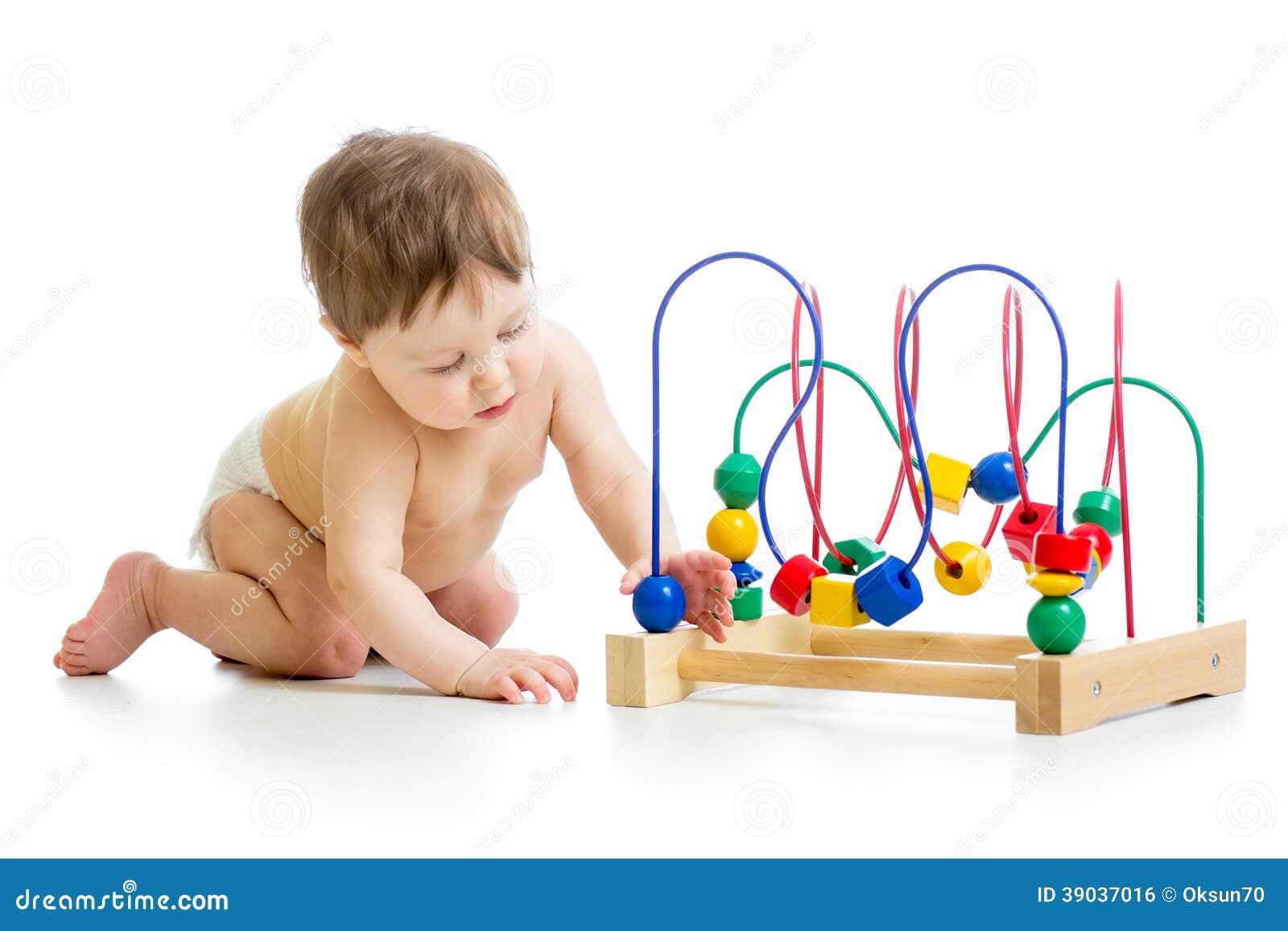 Baby met kleuren onderwijsstuk speelgoed