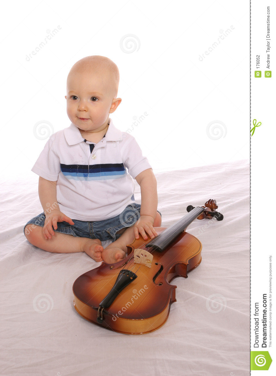 Baby Musician two