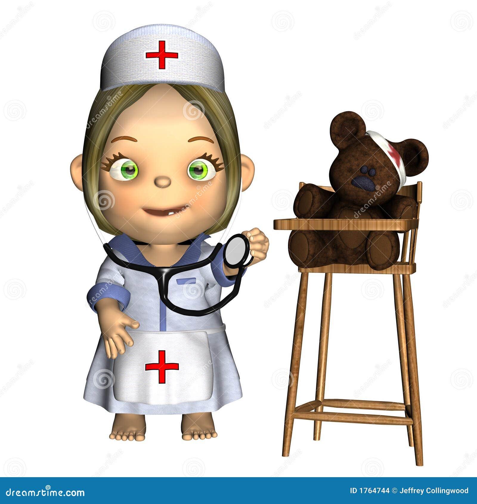 Baby - Nurse Stock Images - Image: 1764744