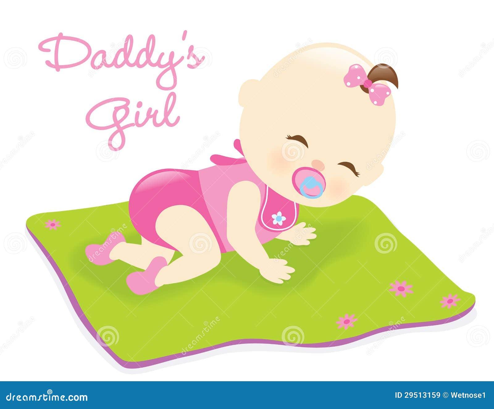 Baby op deken
