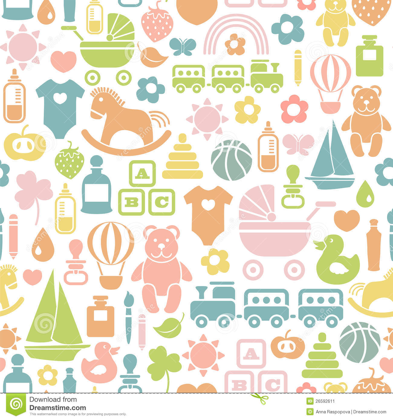 Baby Patterns : Baby Pattern Stock Image - Image: 26592611