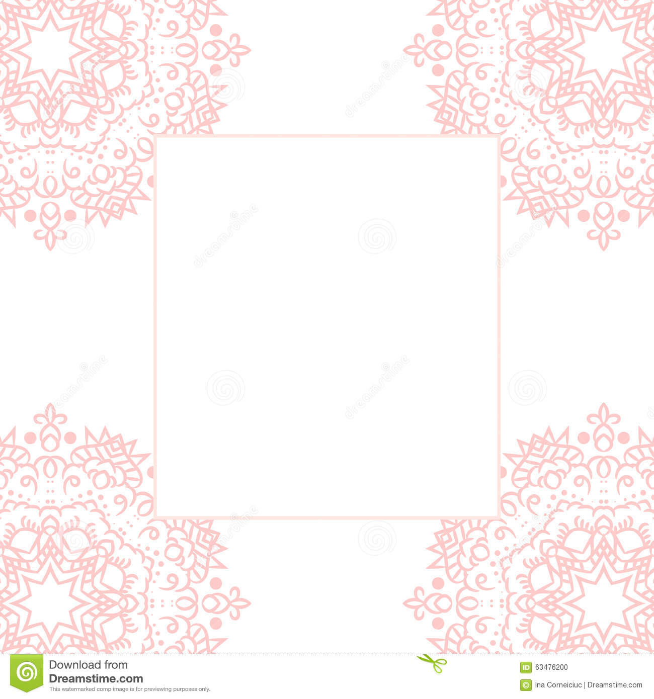 Baby Girl Invitation Template is luxury invitation layout