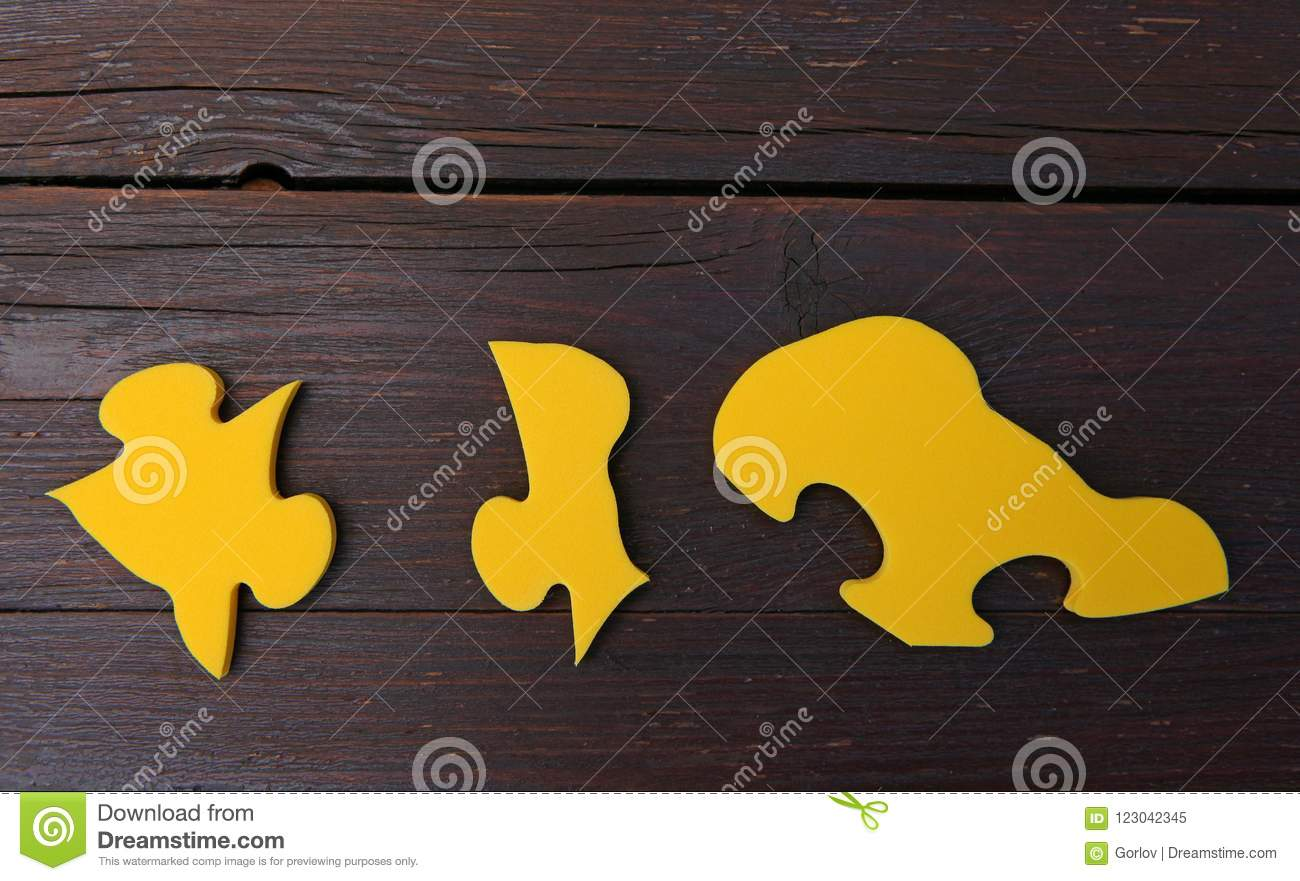 Baby puzzle studio quality wooden background stock image image of