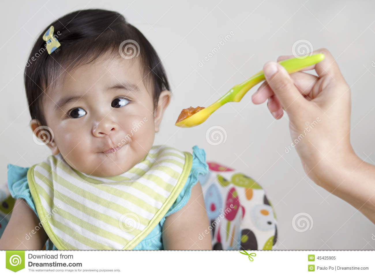 Weaning Baby Refusing Food