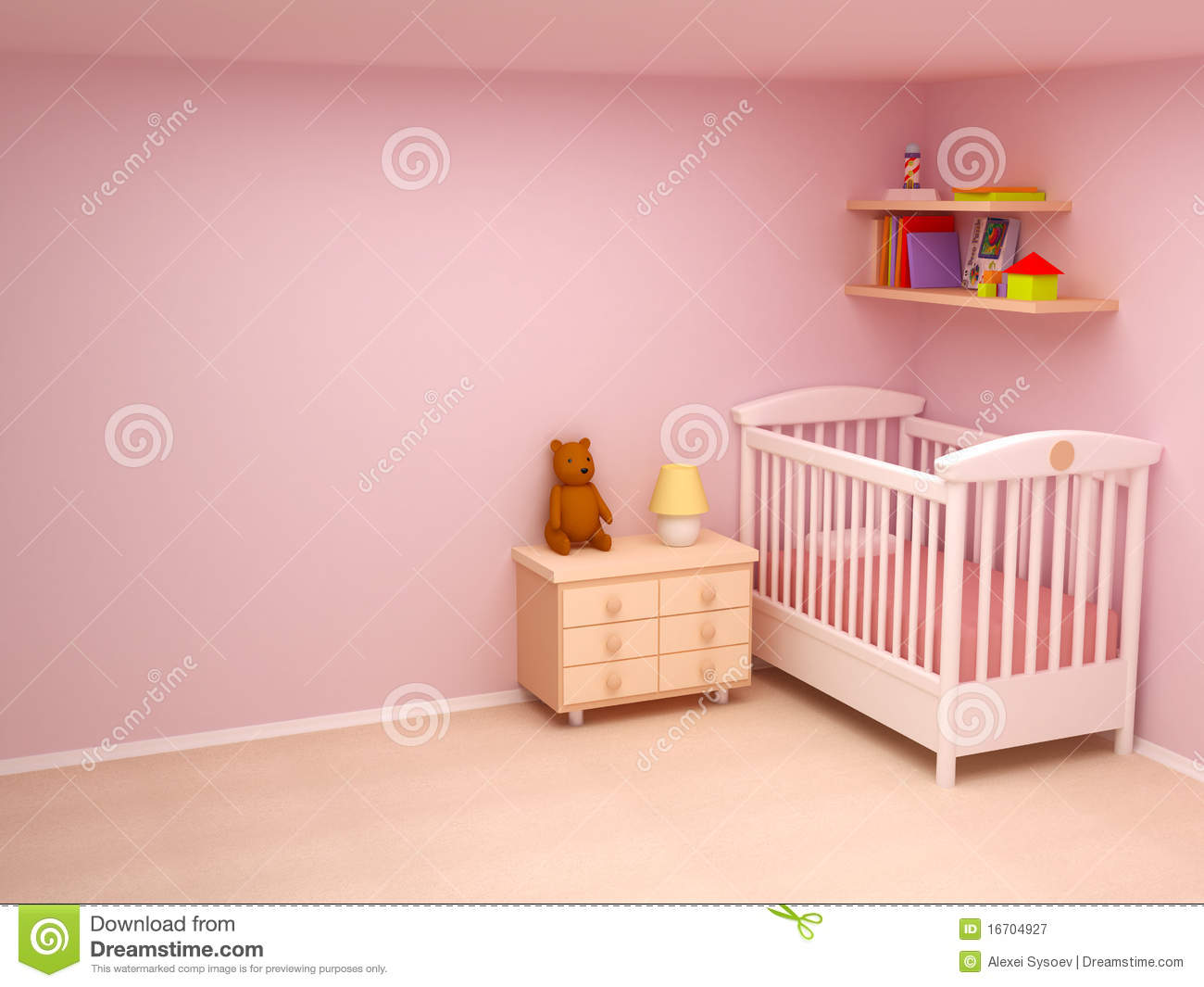 Calm Baby Room Colors