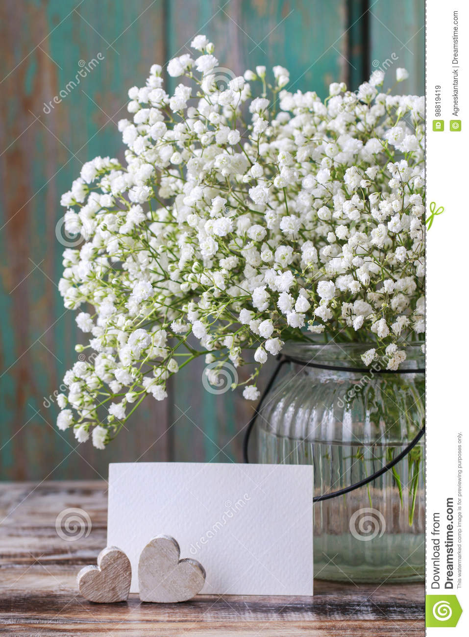 ee8f470551 Baby`s Breath Gypsophilia Paniculata Stock Image - Image of fresh ...