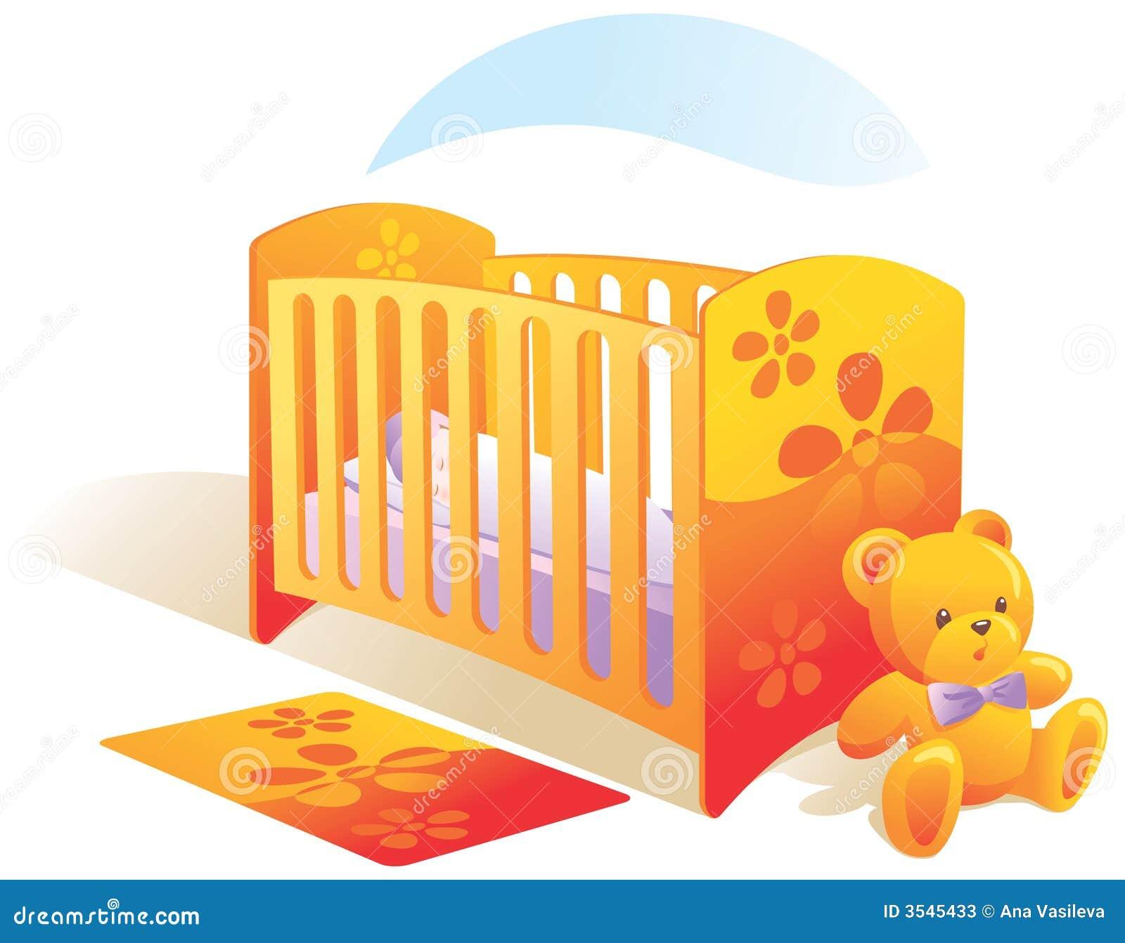 clipart baby cradle - photo #33