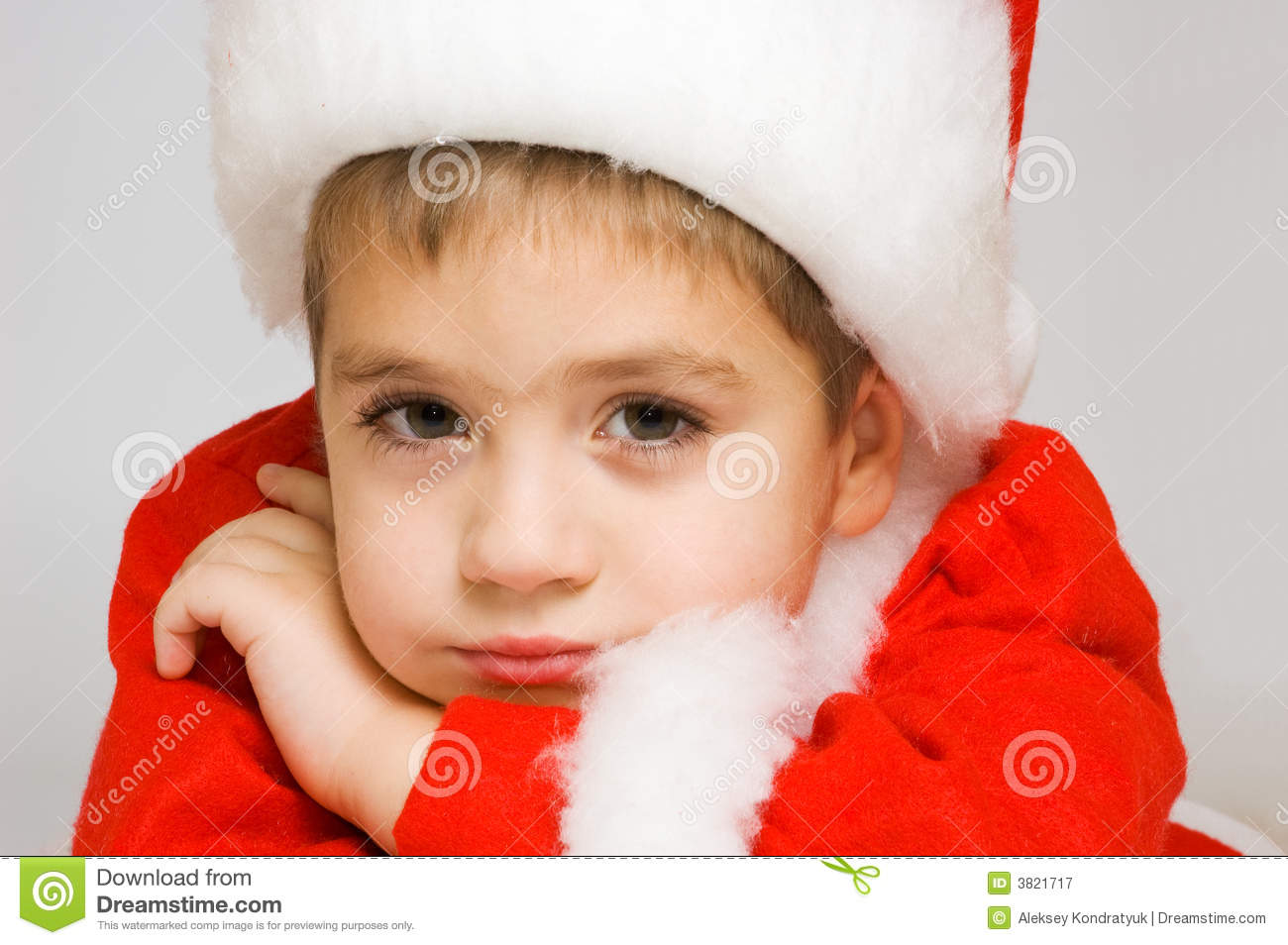 royalty free stock photos laughing little boy in santa s