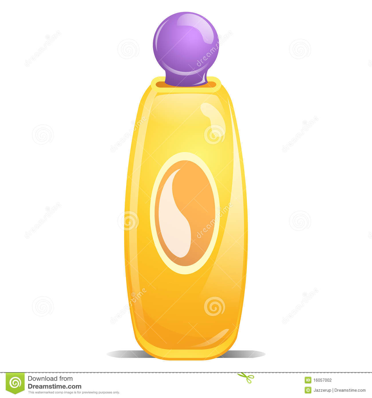 Baby Shampoo Stock Illustration Image Of Drawn Cheerful