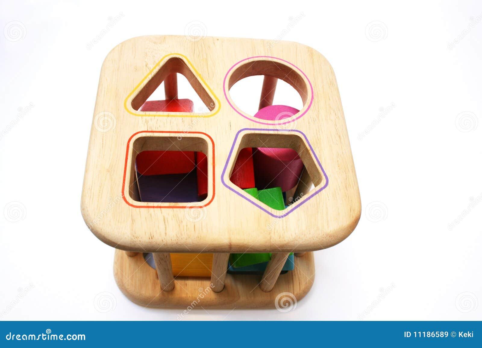 Baby shape puzzle toy stock image. Image of shapes ...