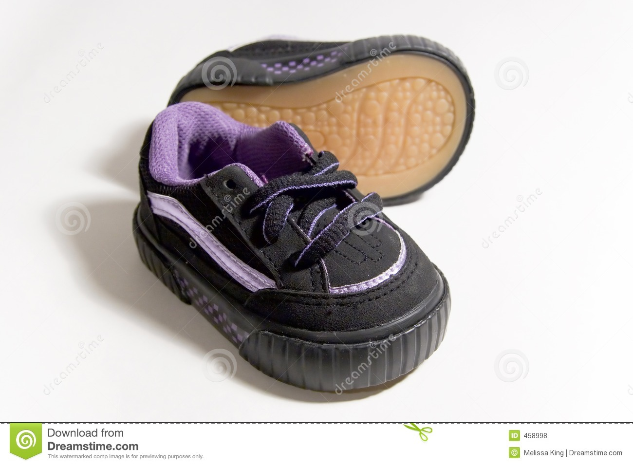 Download Baby Shoes 2 stock photo. Image of small, black, elements - 458998