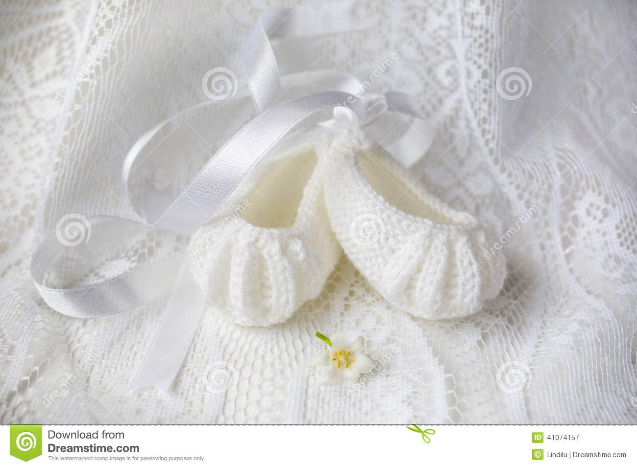 Baby Shoes stock image. Image of