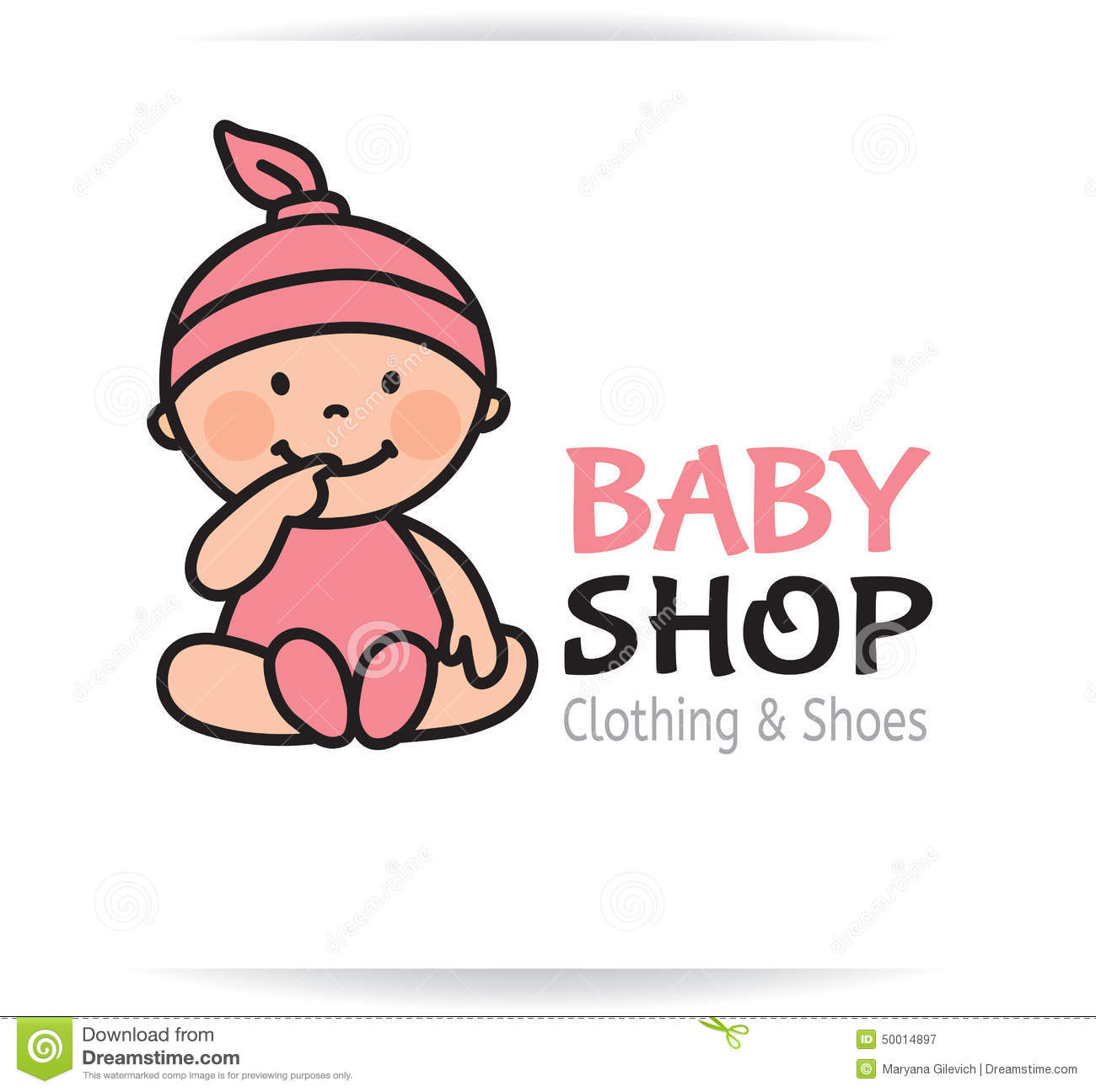 Baby Shop Logo Stock Vector - Image: 50014897