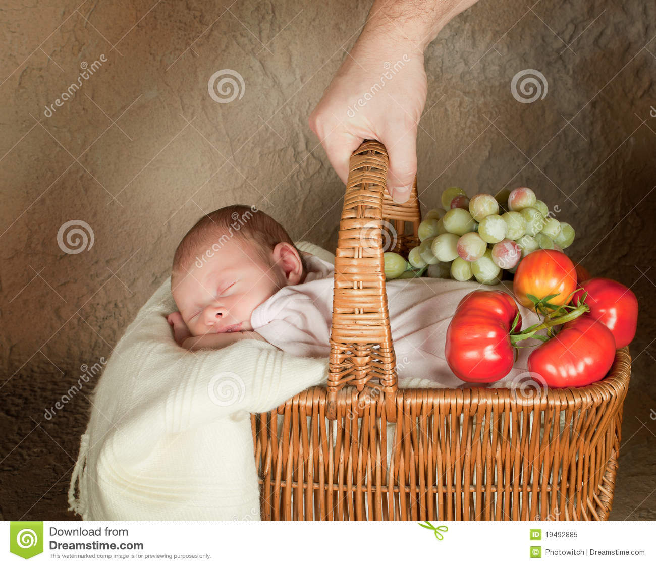 Download Baby shopping stock image. Image of relaxing, sleep, retro - 19492885