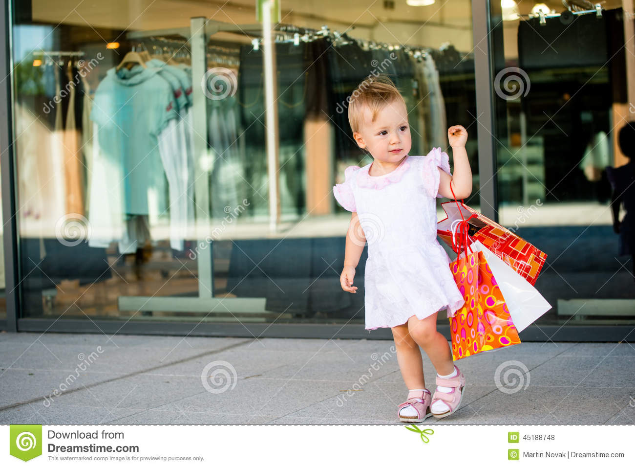 3c670c4d9 Baby shopping stock photo. Image of holding, sale, store - 45188748