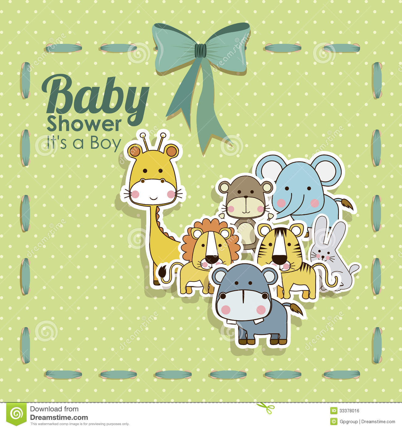 Baby Animal Cartoon Stock Vectors Clipart and Illustrations