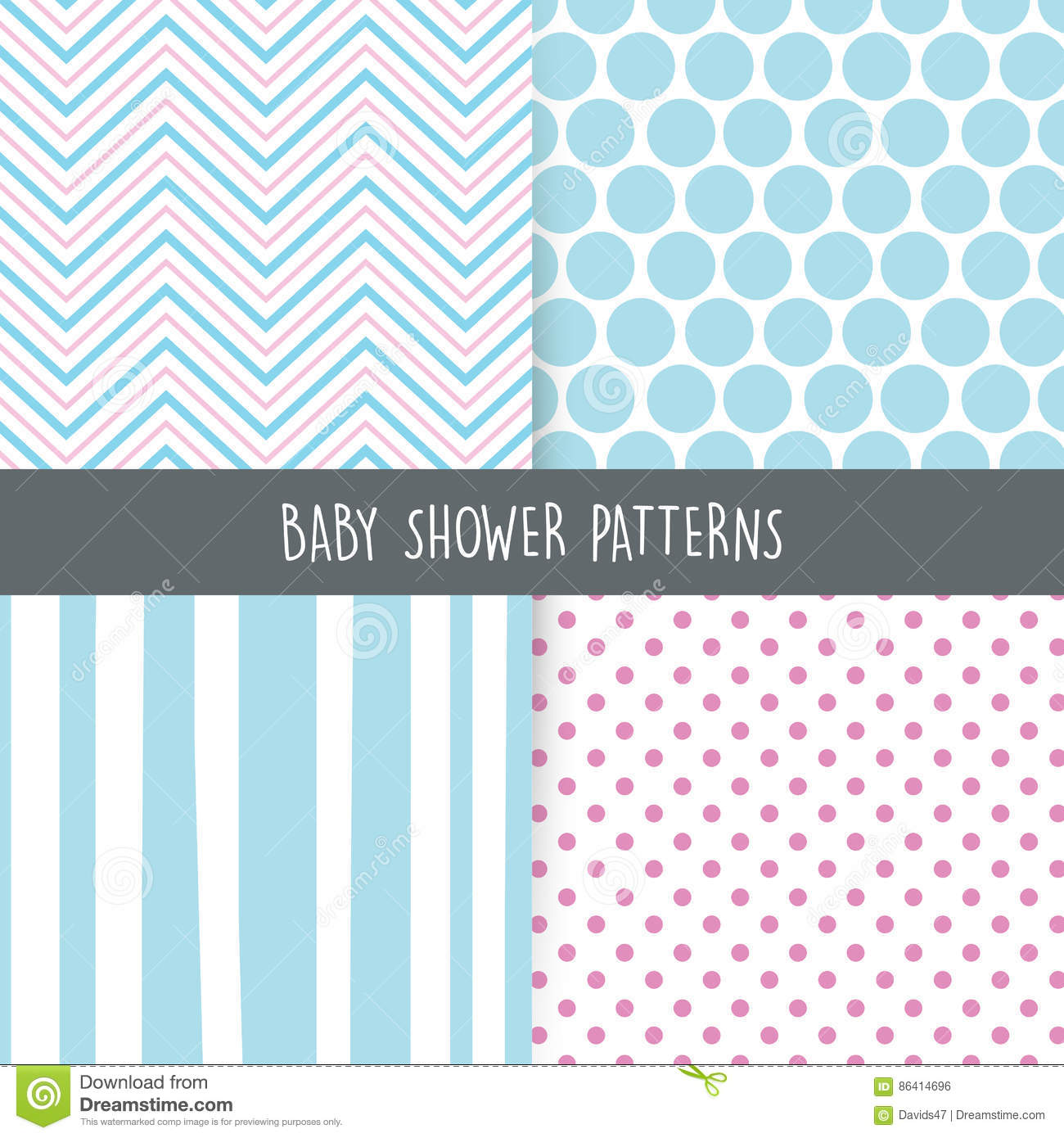 baby shower background stock vector image 86414696