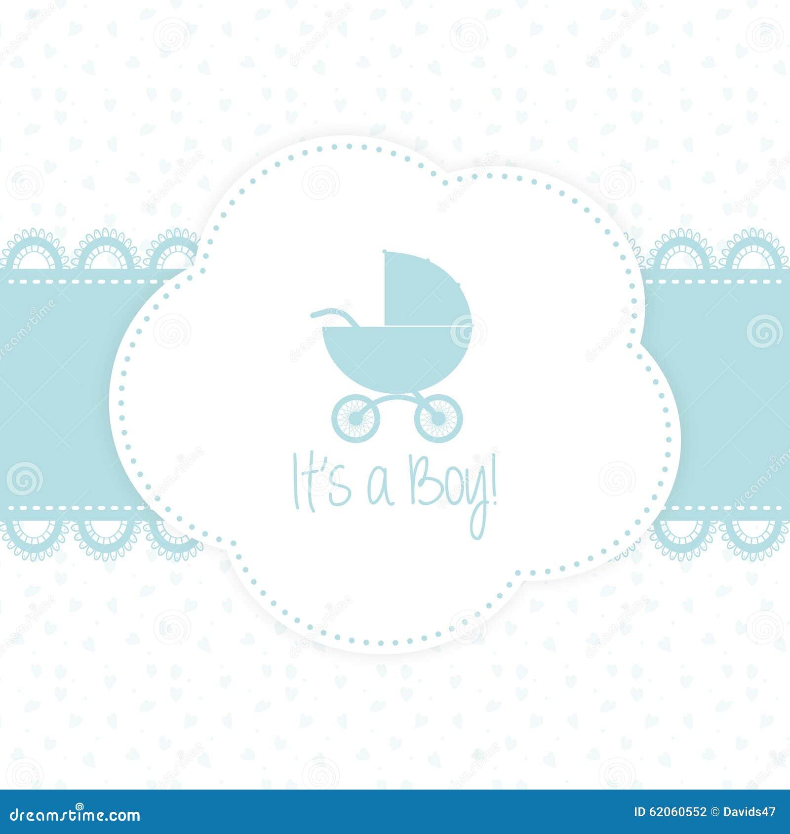 newborn announcement card