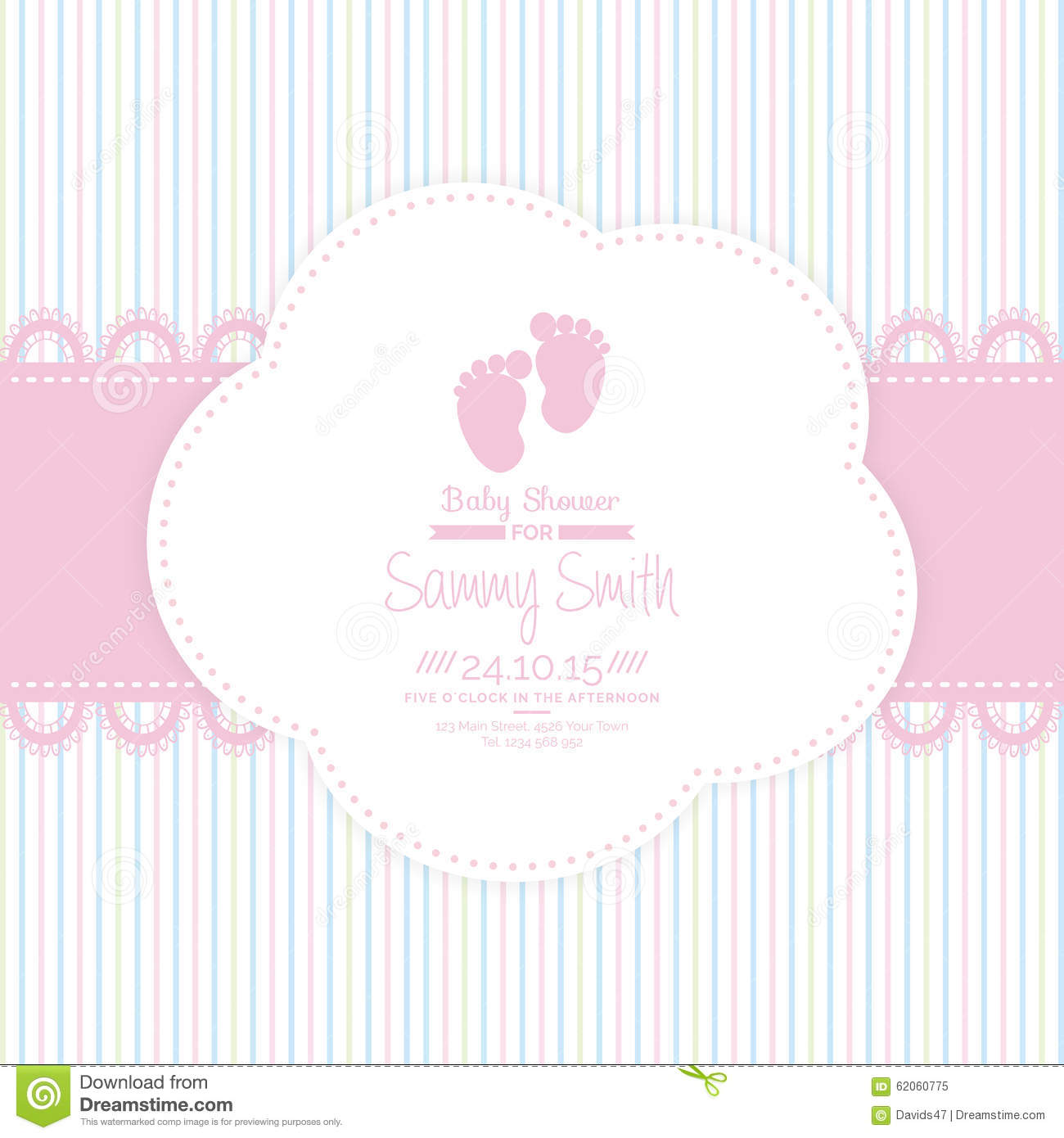 baby shower background stock vector image 62060775