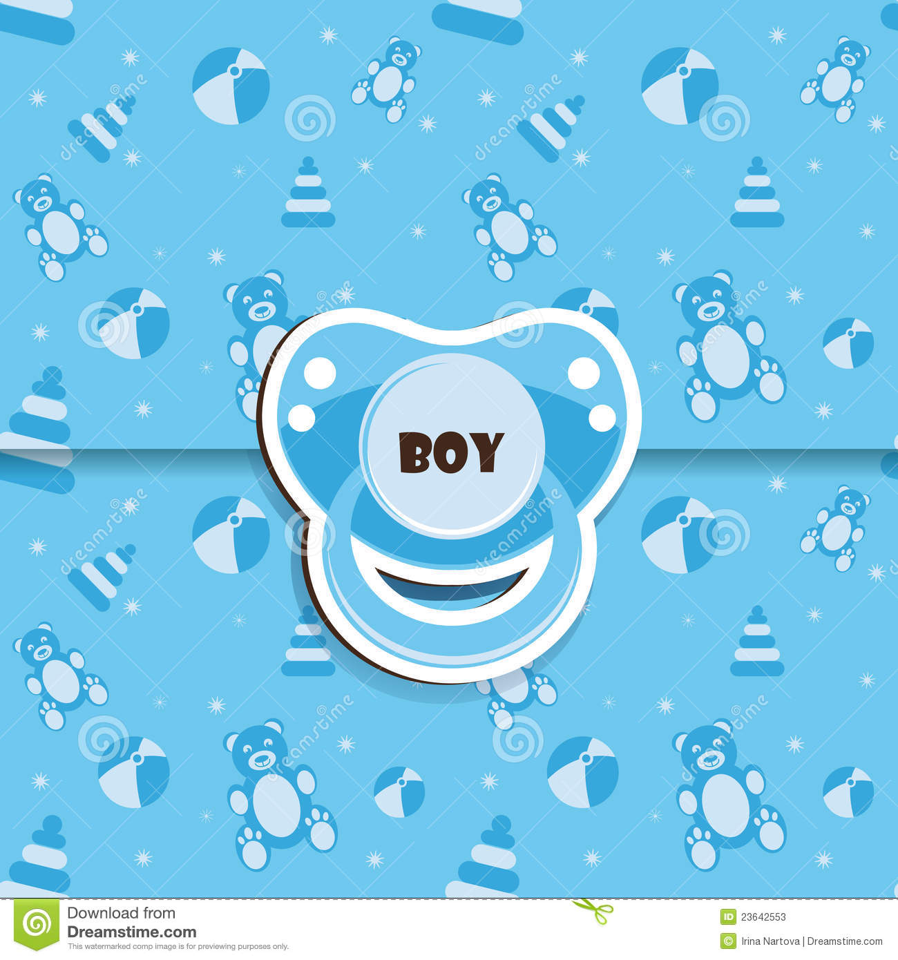 baby shower boy stock photos image 23642553