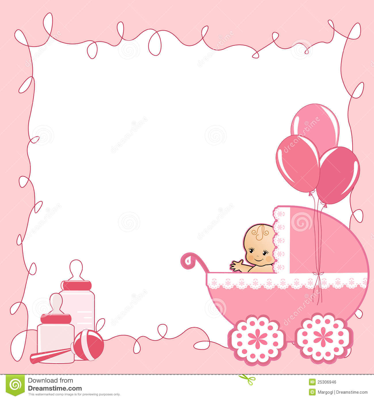 baby shower card royalty free stock image image 25306946 1300x1390